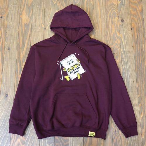 bcw,18win,hoodie,burgundy,top