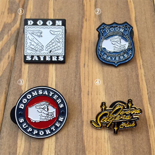 DOOM SAYERS PINS