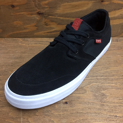STATE FOOTWEAR BISHOP BLACK/WHITE