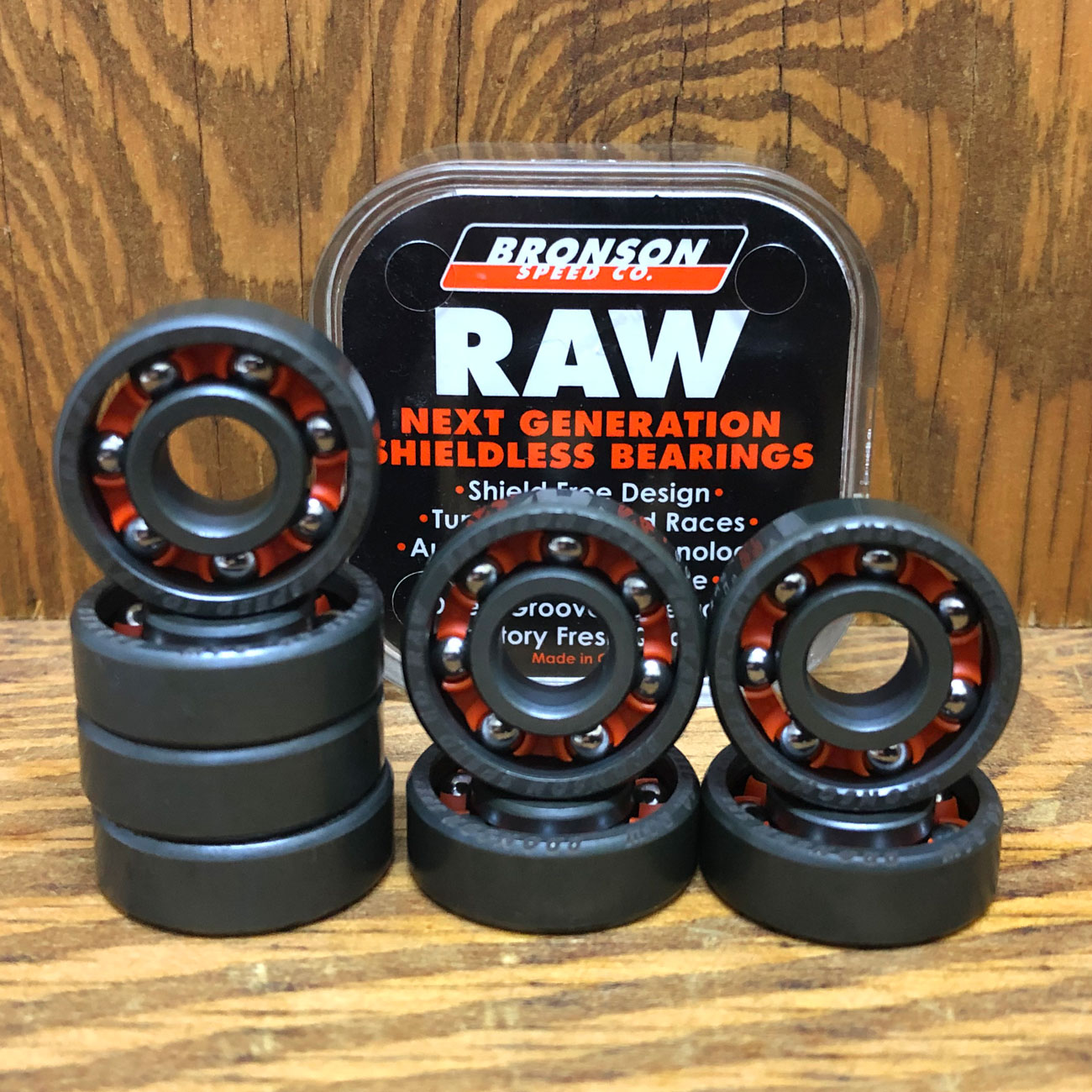 BRONSON BEARINGS RAW