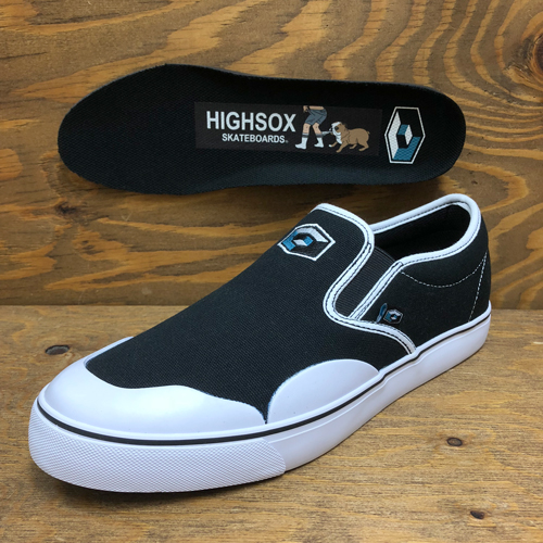 (27.5cmのみ)CONSOLIDATED x HIGHSOX BS DRUNK 5 CANVAS SLIP ON CUBE