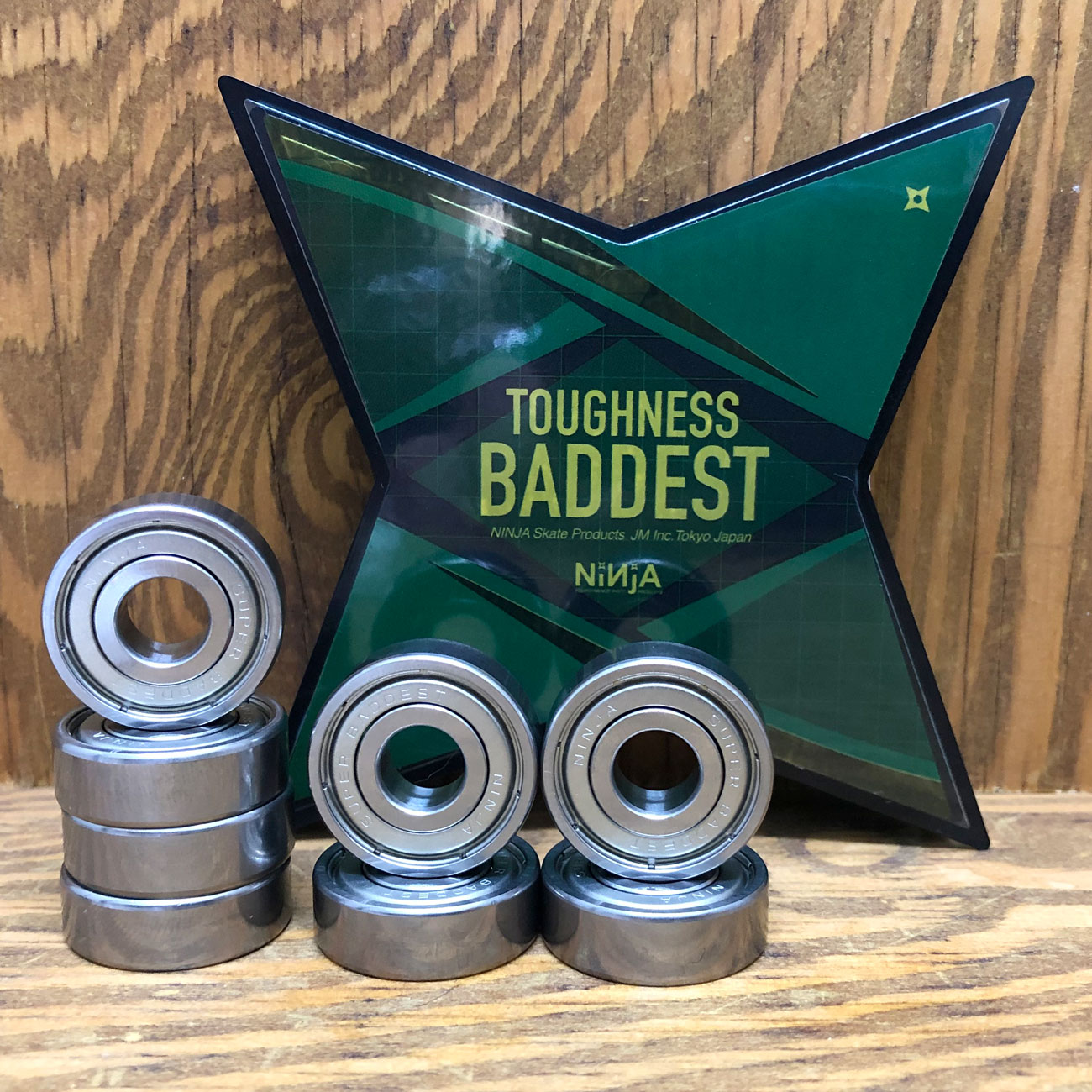 NINJA BEARINGS SUPER BADDEST TOUGHNESS