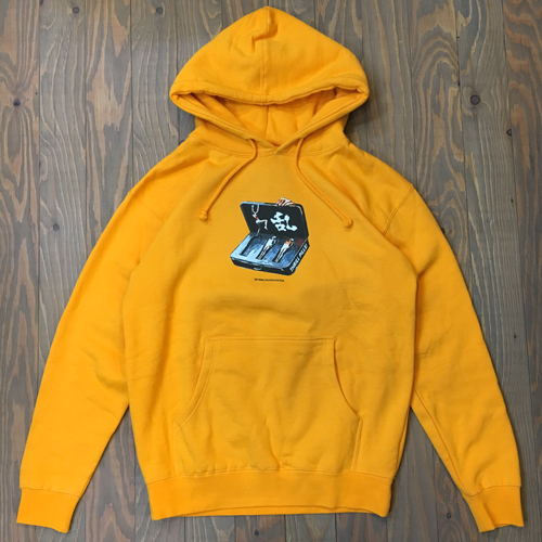 EVISEN THRILL PILLS HOODY YELLOW
