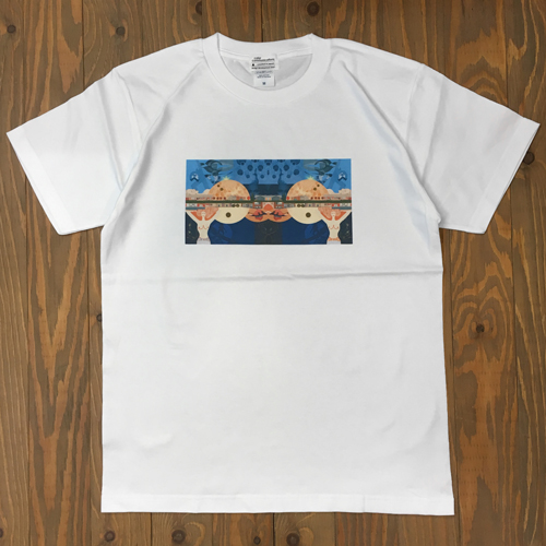 COLOR COMMUNICATIONS TOM WAVES BY HIROKI MURAOKA TEE WHITE