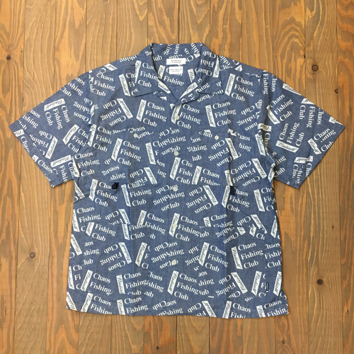 CHAOS FISHING CLUB x RADIALL BLUE HOURS SHIRTS INDIGO