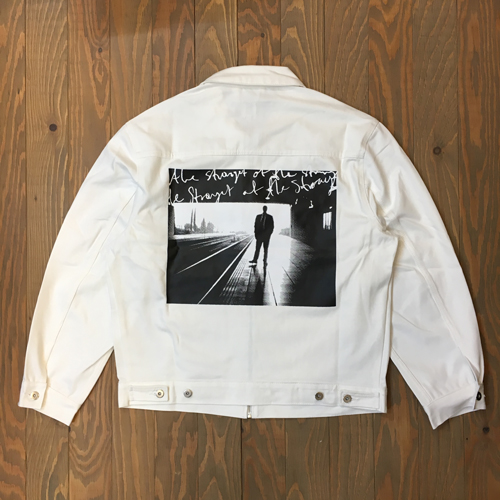 POLAR SU19 NOTES DENIM JACKET IVORY