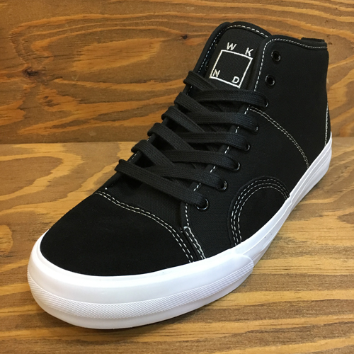 STATE FOOTWEAR HARLEM UP TOWN WKNDxSTATE BLACK/SILVER SUEDE/CANVAS