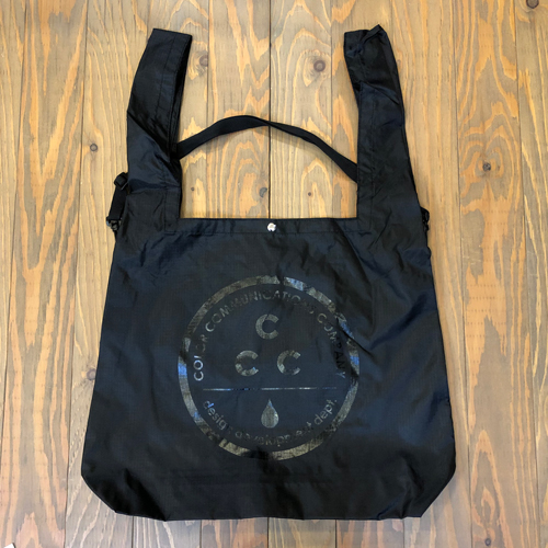 CCC 2 WAY PAC SHOULDER BAG BLACK