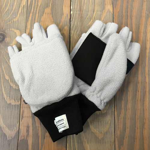 CCC 2 WAY FLEECE GLOVE 2 LIGHT BEIGE
