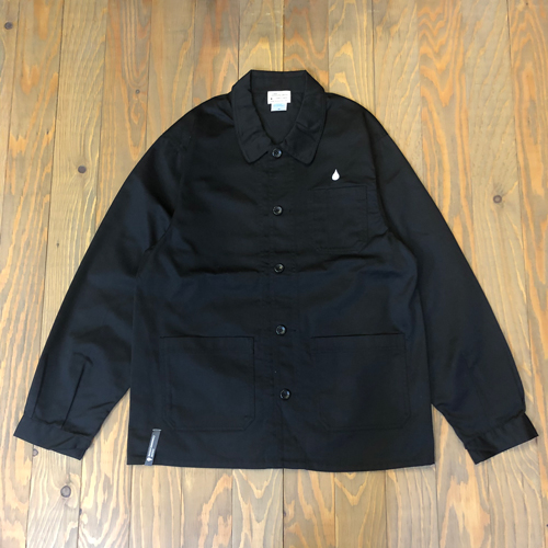 CCC DRIP EMB COVERALL JACKET