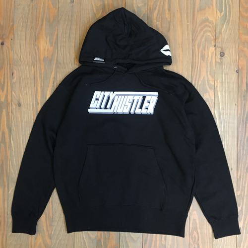 DEAL CITY HUSTLER HOODIE BLACK