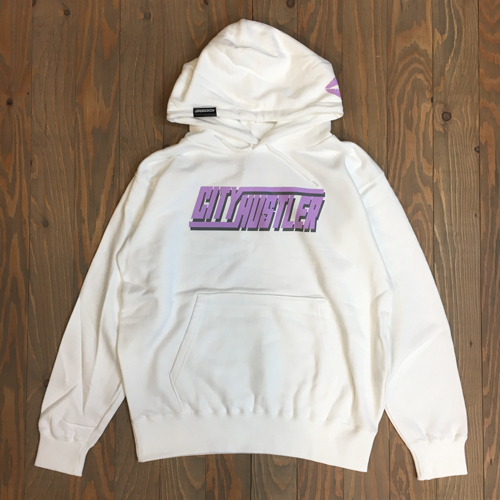 DEAL CITY HUSTLER HOODIE WHITE