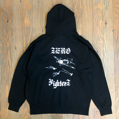 DEAL ZERO FIGHTERZ HOODIE BLACK