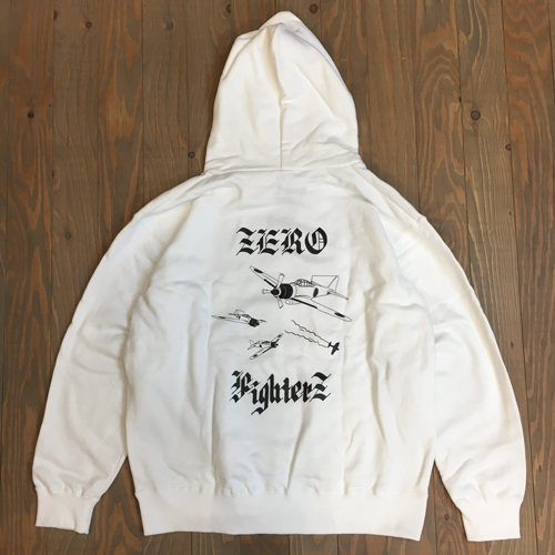 DEAL ZERO FIGHTERZ HOODIE WHITE