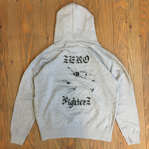 DEAL ZERO FIGHTERZ HOODIE GRAY