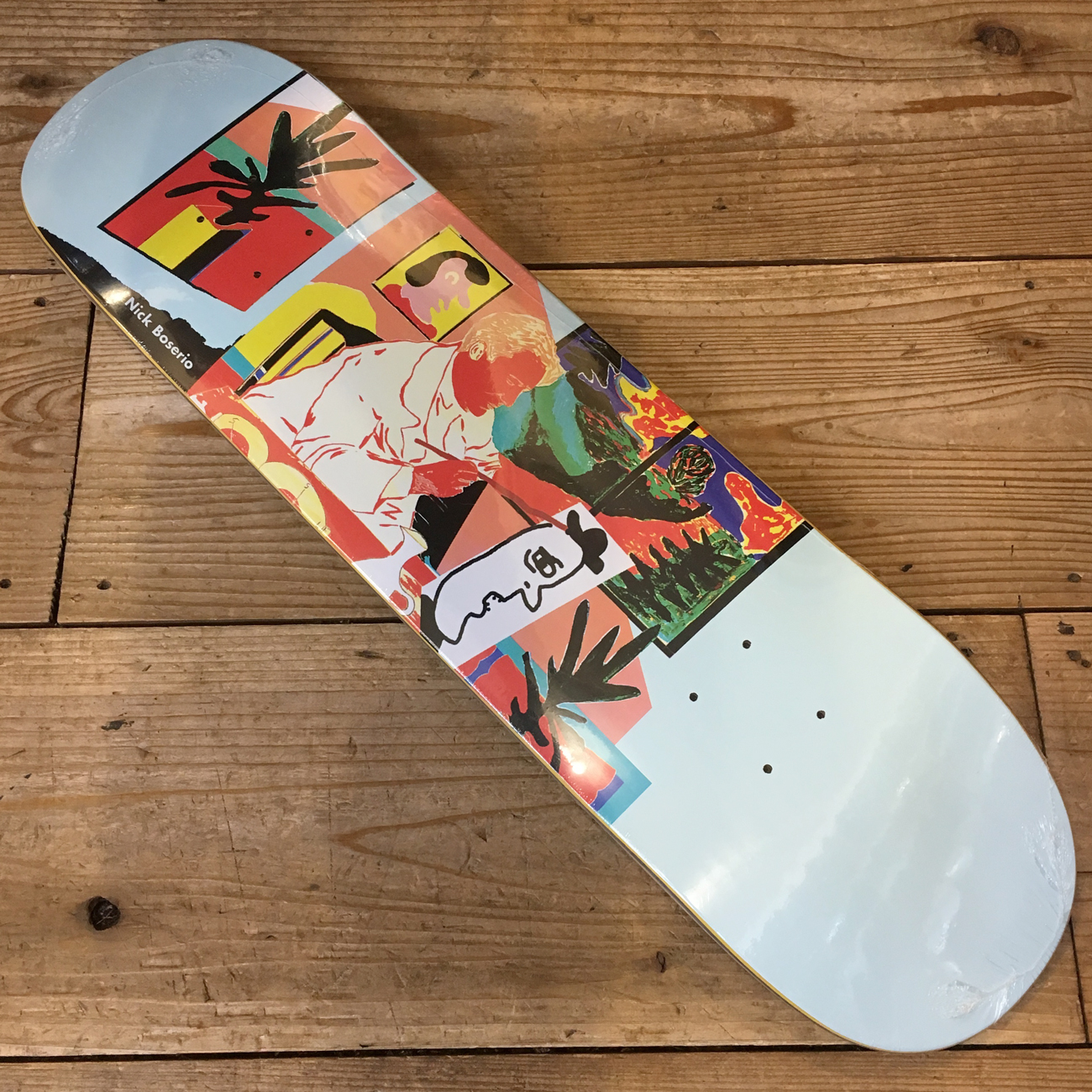 POLAR NICK BOSERIO THE ARTIST DECK 8.0inch