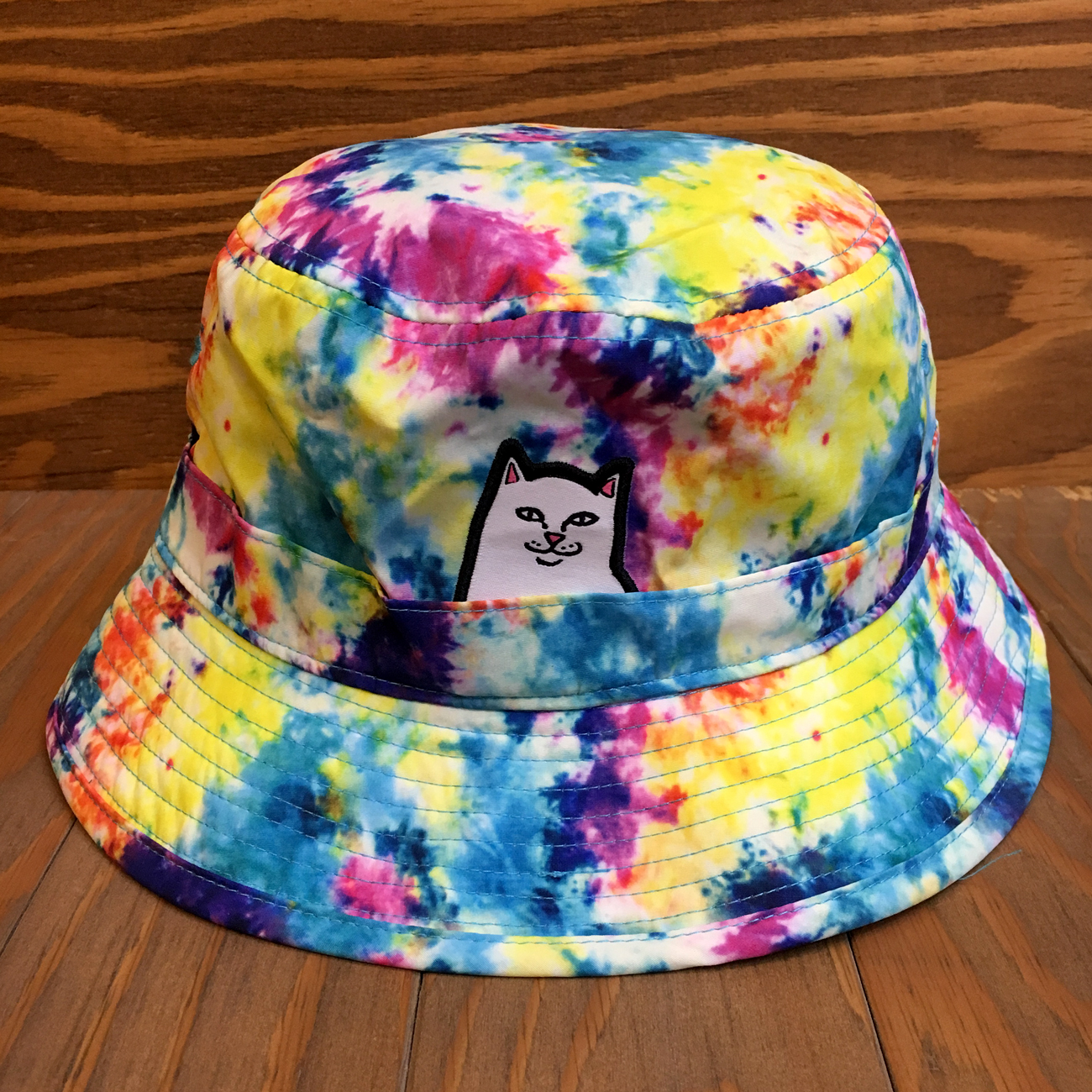 RIPNDIP LORD NERMAL BUCKET HAT TIE DYE