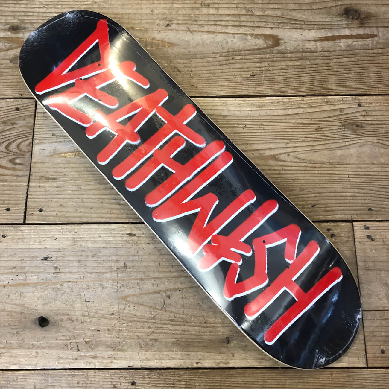 DEATH WISH DEATHSPRAY RED DECK 8.0inch