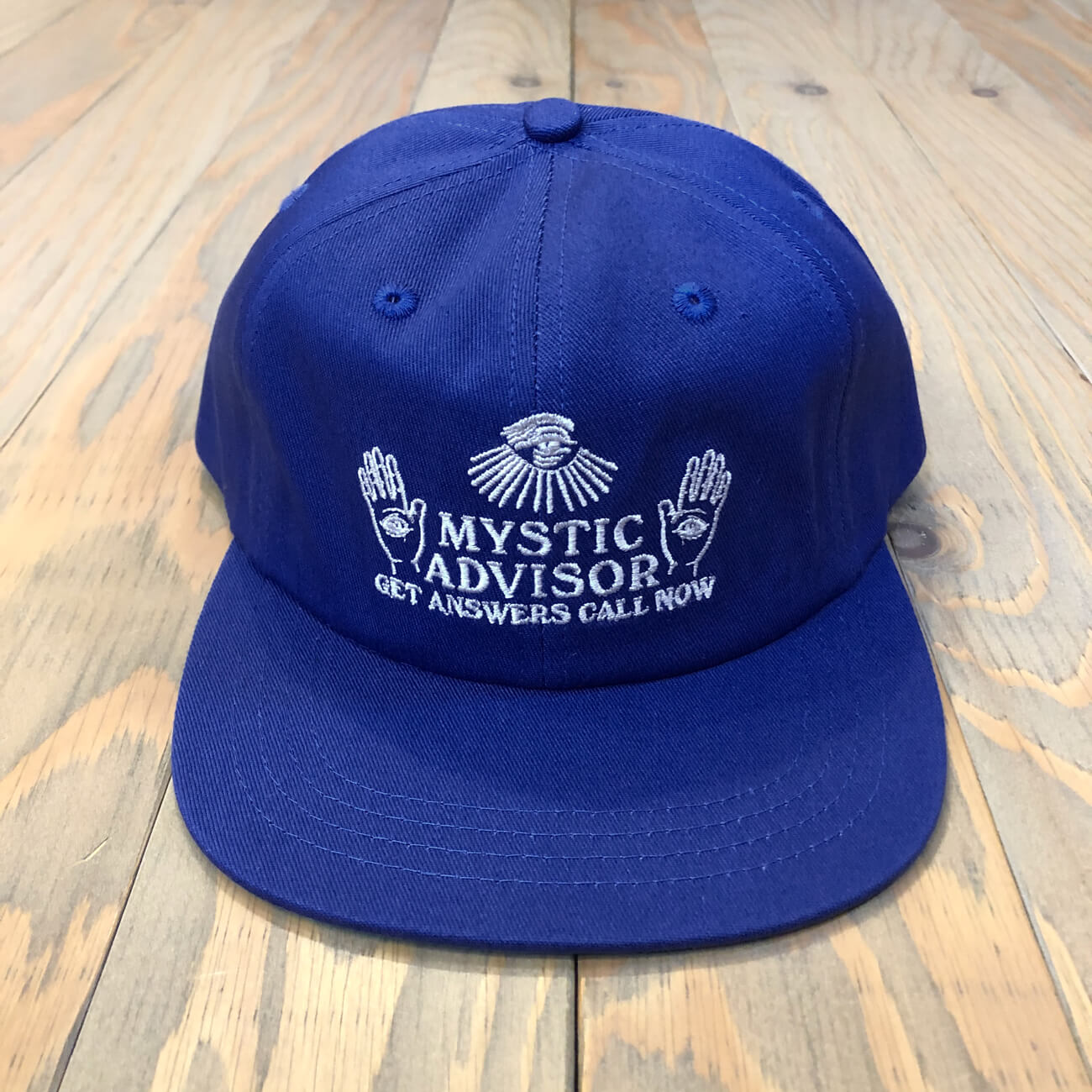 THEORIES MYSTIC ADVISOR SNAPBACK COOL BLUE