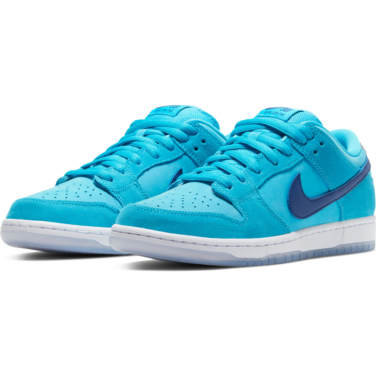 NIKE SB DUNK LOW PRO BLUE FURY/DEEP ROYAL-BLUE FURY-WHITE-CLEAR-MTLC SILVER