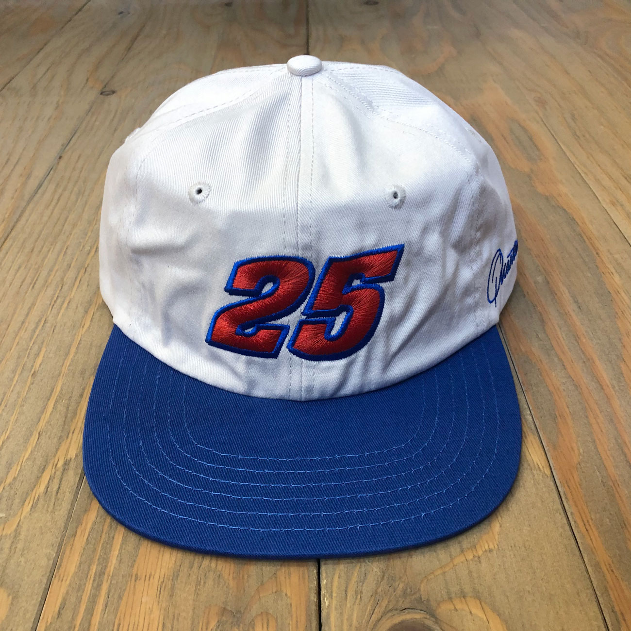QUARTER SNACKS RACER CAP NATURAL/ROYAL