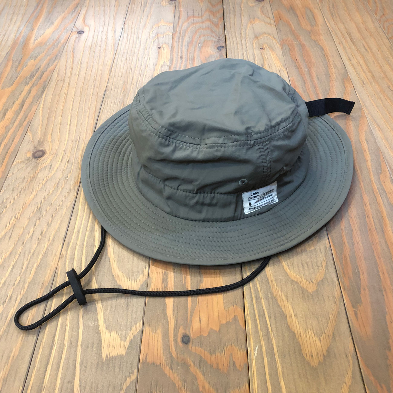 COLOR COMMUNICATIONS COTTON TAG BOONIE HAT NYLON OLIVE