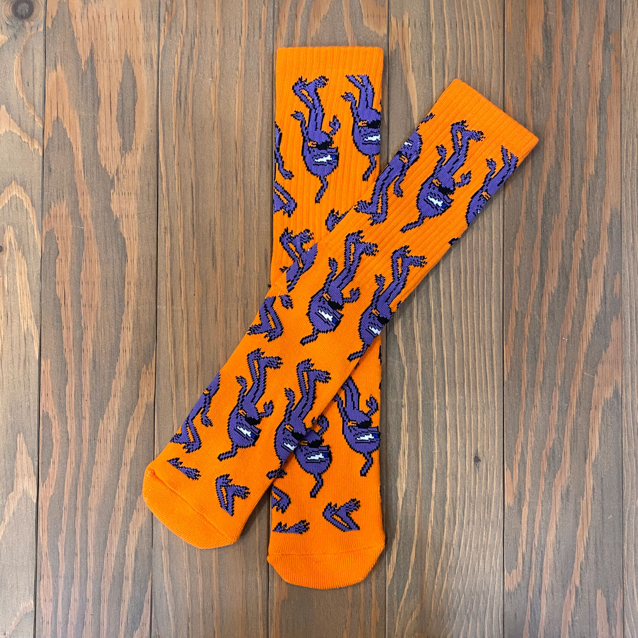 TOY MACHINE MULTI SECT SOX ORANGE