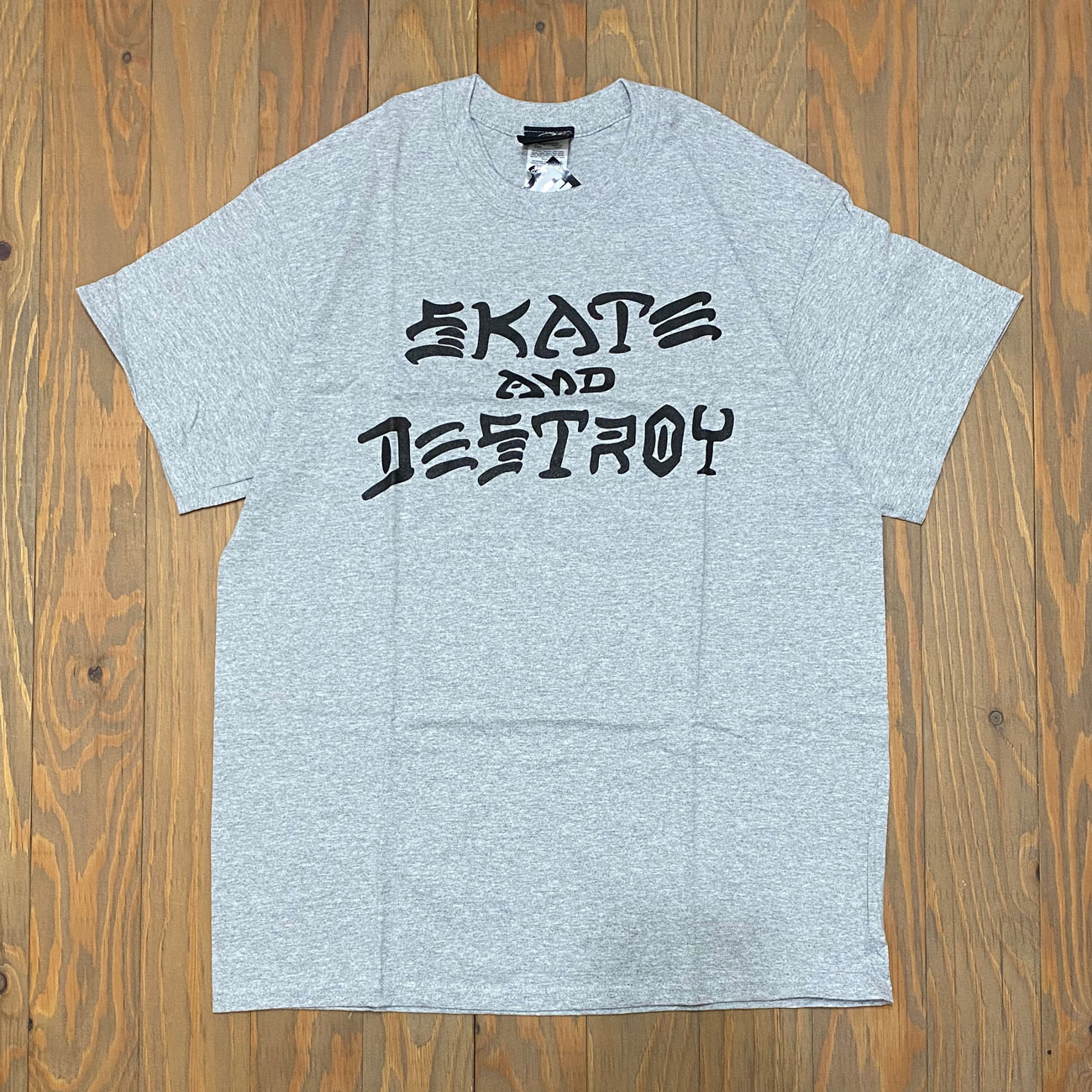 THRASHER MAGAZINE SKATE AND DESTROY TEE