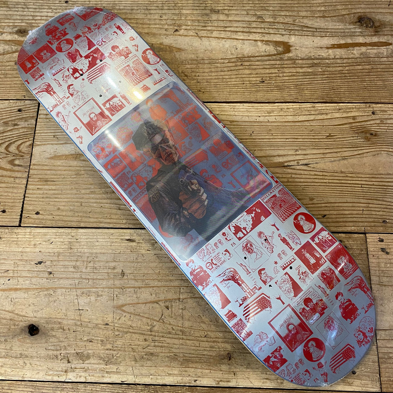 FUCKING AWESOME AIDAN HOLOGRAM DECK 8.25inch