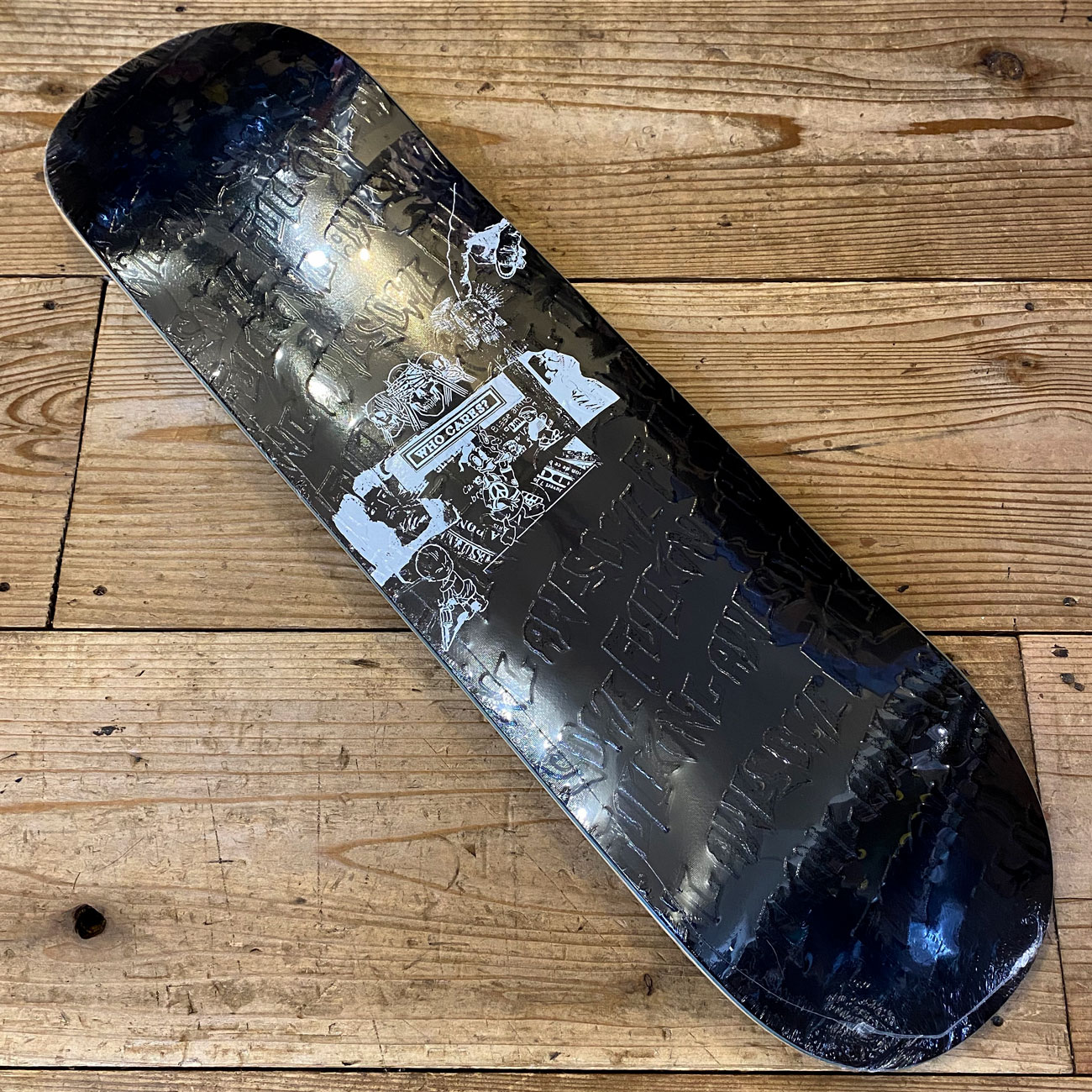 FUCKING AWESOME WHO CARES BLACK DECK 8.25inch