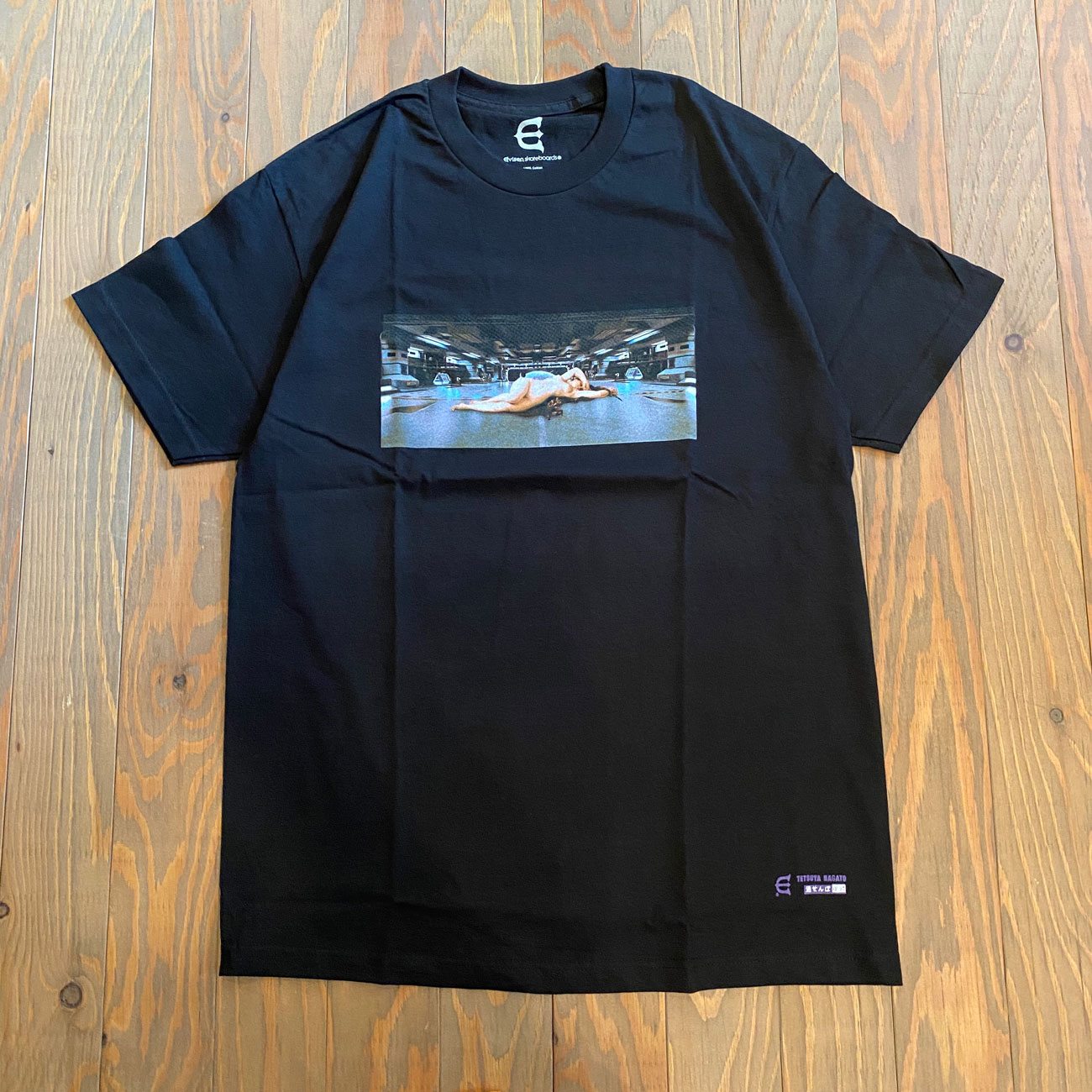 EVISEN NAKED DEFENSE S/S TEE BLACK