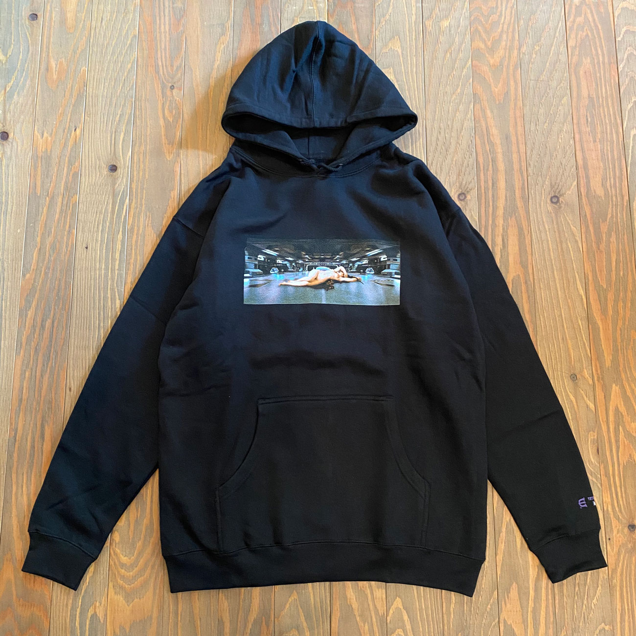 EVISEN NAKED DEFENSE HOODY BLACK