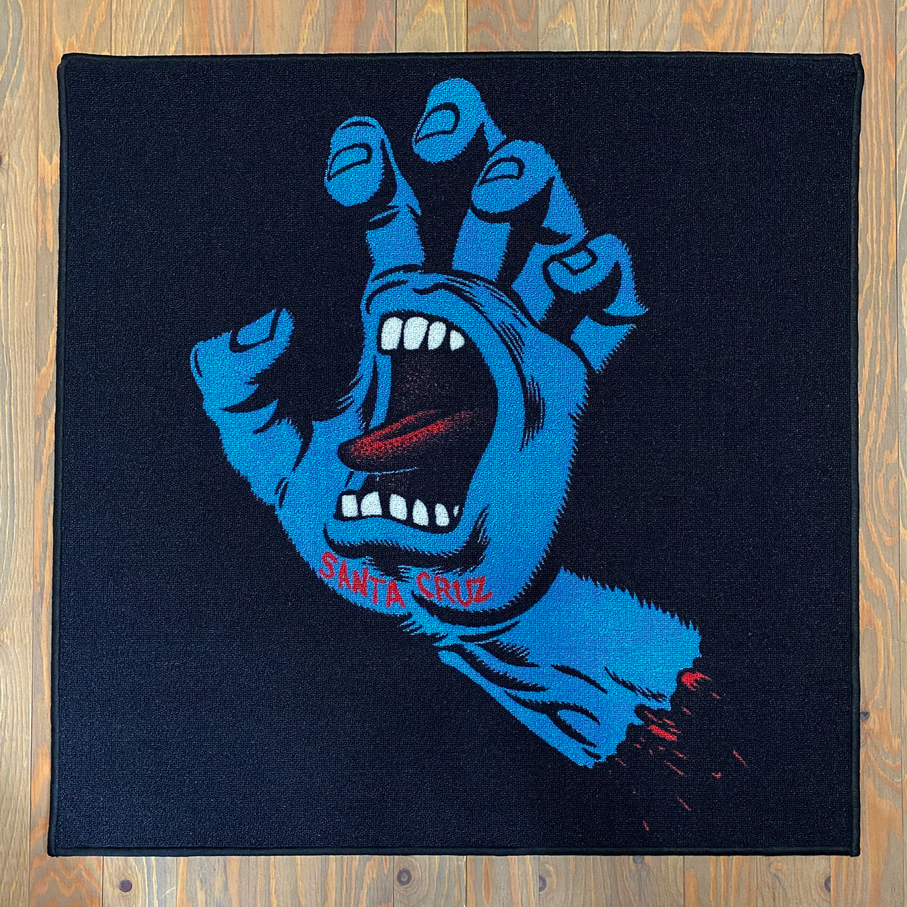 SANTA CRUZ SCREAMING HAND RUG MAT
