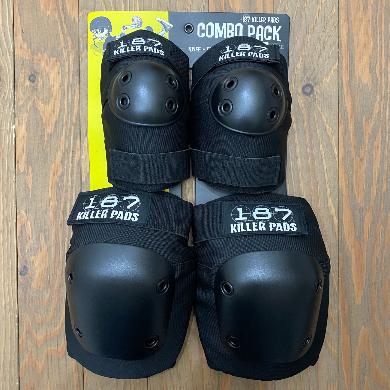 187 KILLER PADS COMBO PACK(肘、膝)