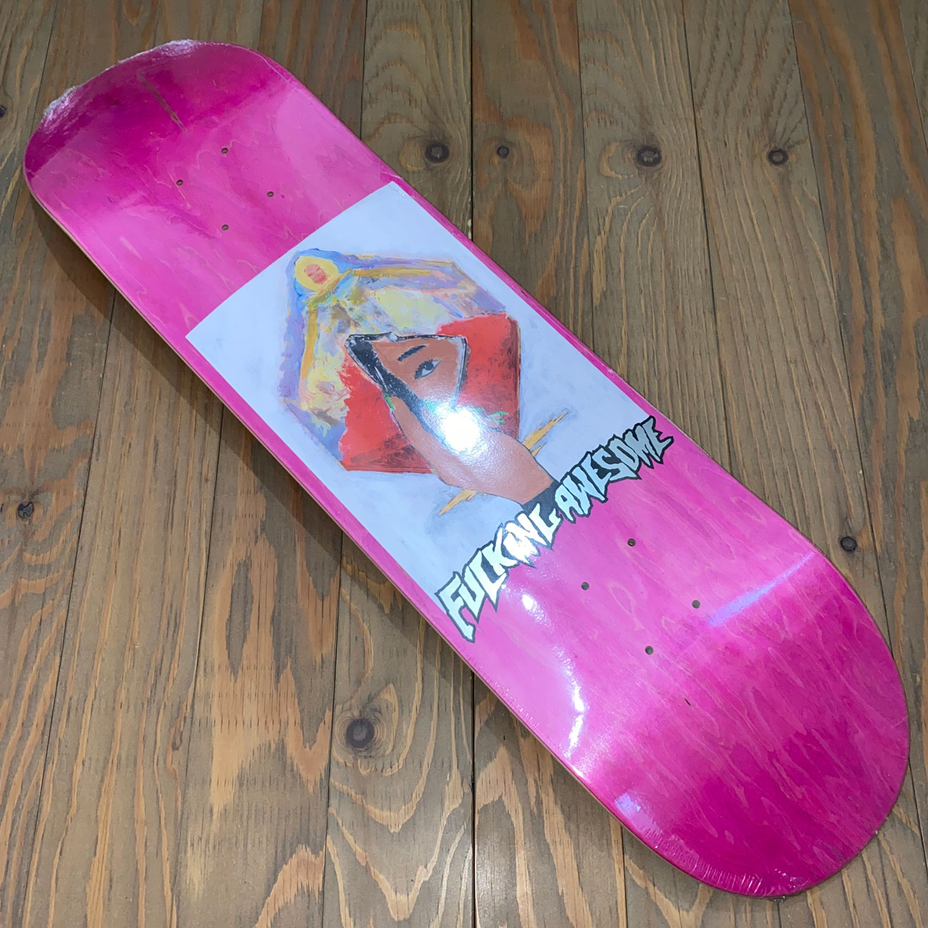 FUCKING AWESOME DILL MIRROR PAINTING DECK 8.25inch