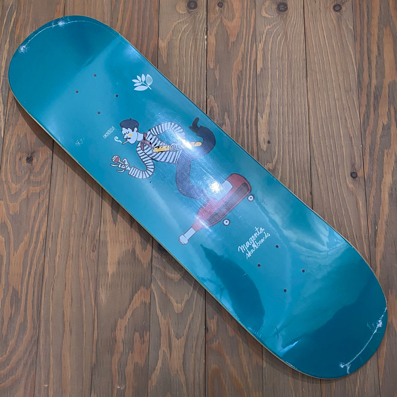 MAGENTA LE FRENCH DECK 8.25inch