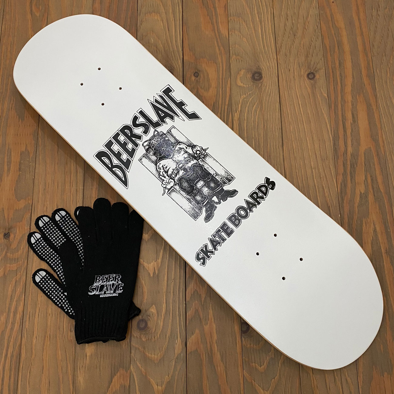 BEER SLAVE DEATH BEER DECK 8.5inch
