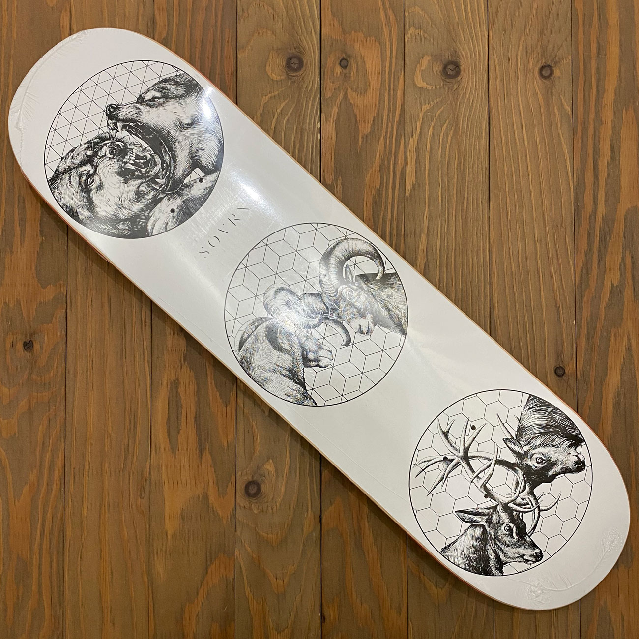 SOVRN NATURE OF WARS DECK 8.0/8.25inch