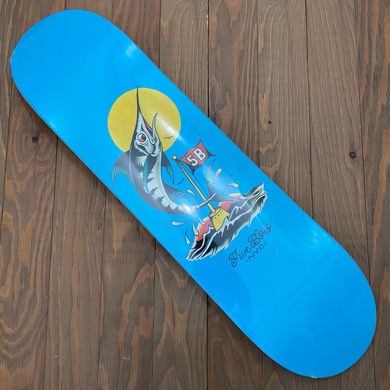 5BORO MANHATTAN MARLIN DECK 8.0inch