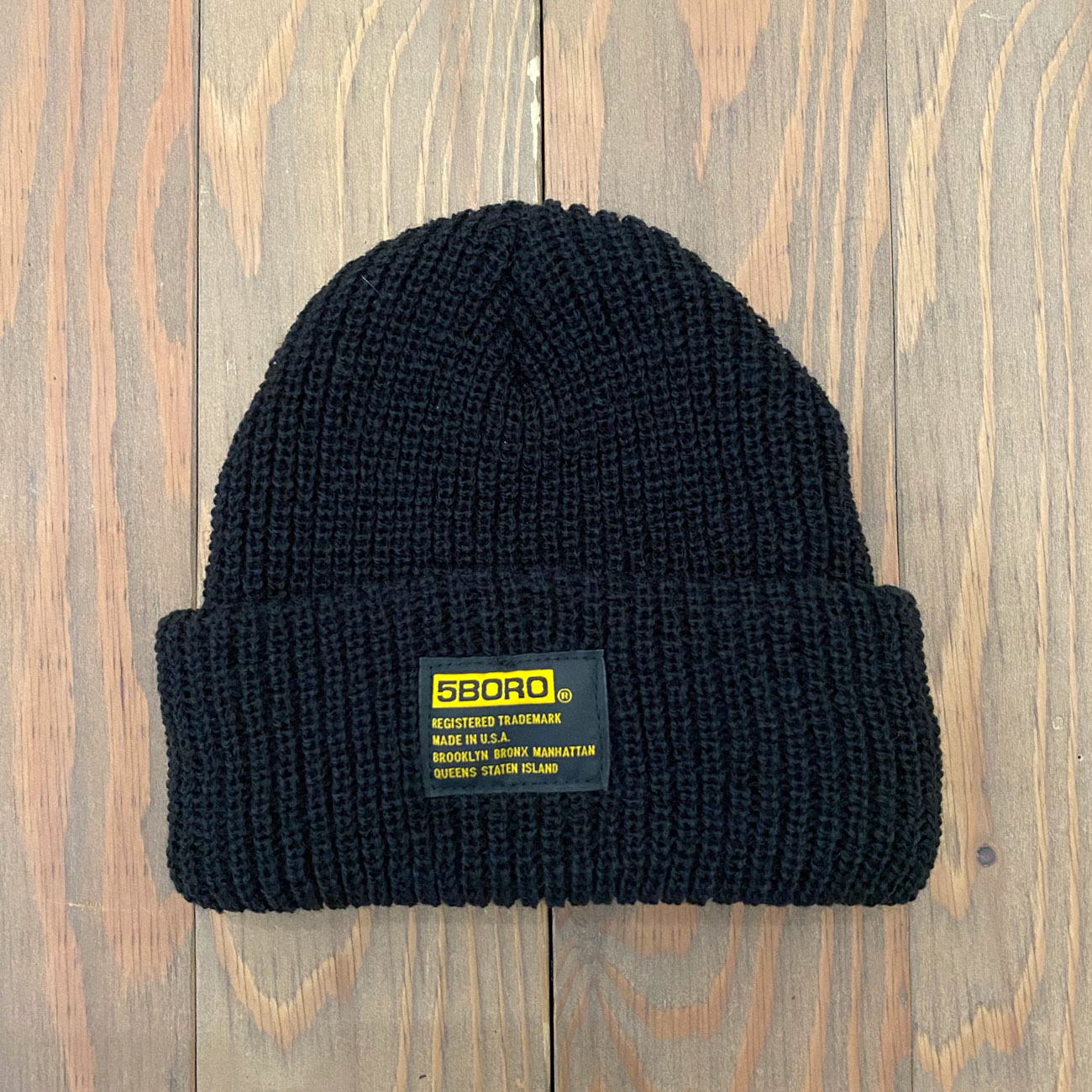 5BORO TACTICAL BEANIE BLACK
