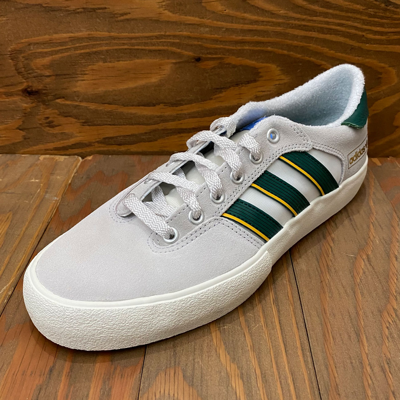 ADIDAS MATCHBREAKSUPER WHITE/GREEN/YELLOW