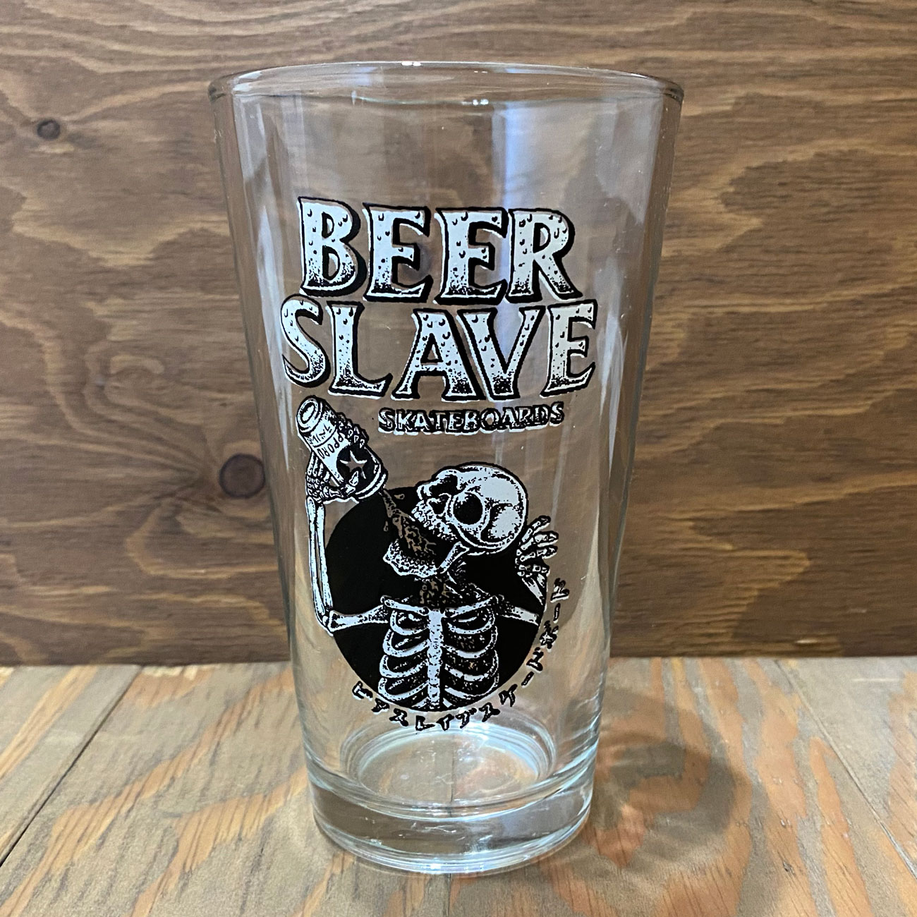 BEER SLAVE パイントグラス