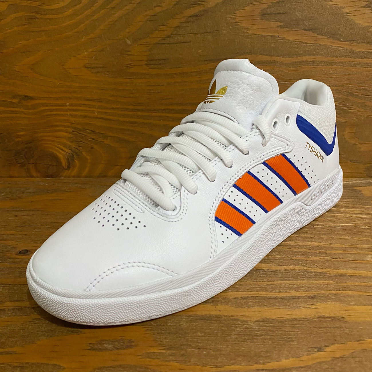 ADIDAS TYSHAWN WHITE/ORANGE