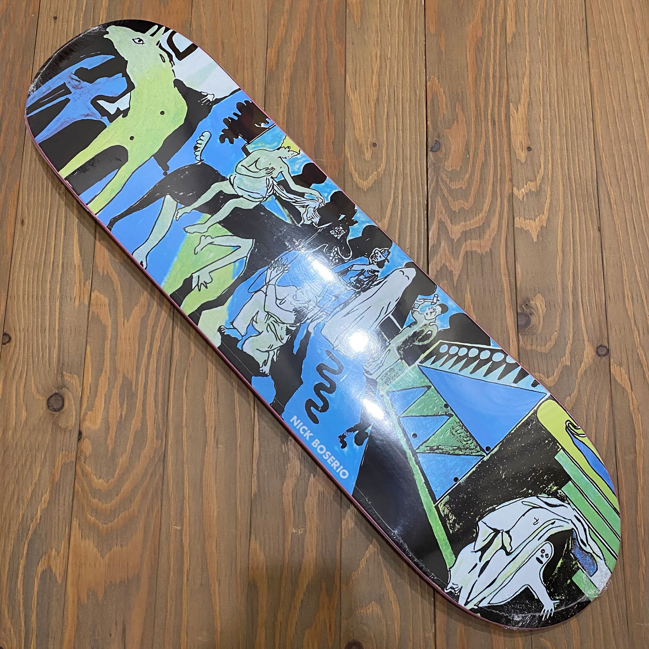 POLAR THE RIDERS DECK 8.125inch