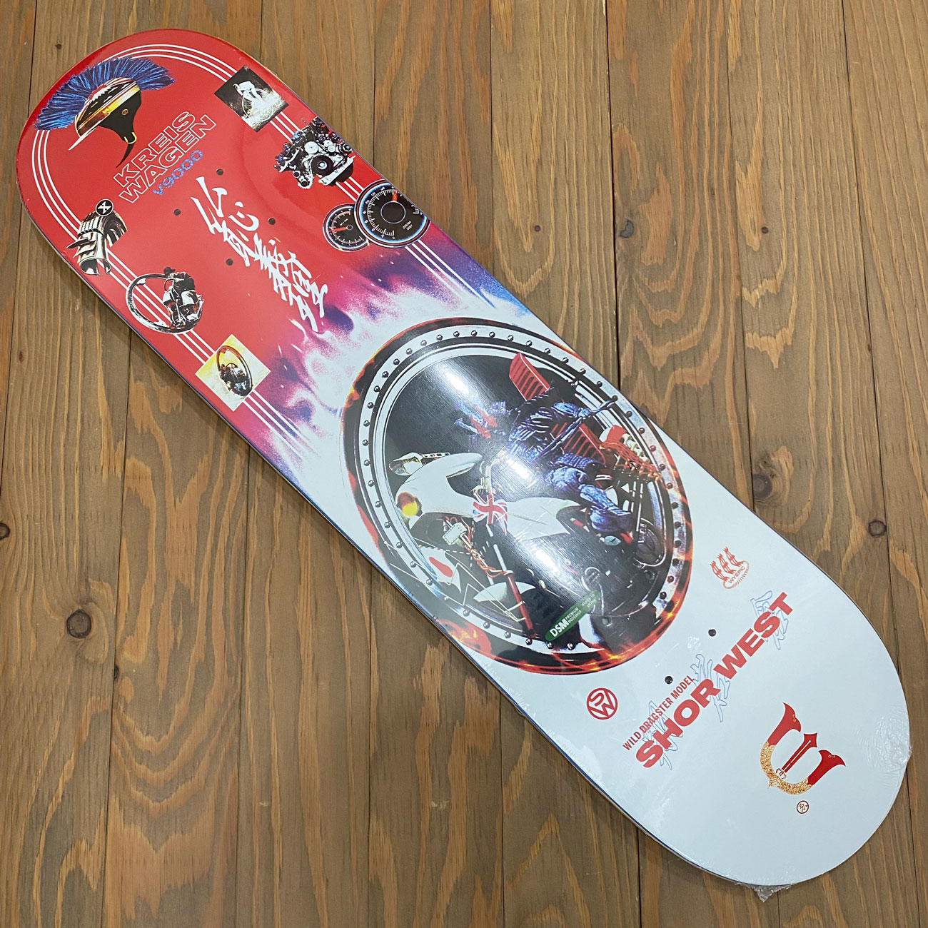 EVISEN ADMATIC SERIES SHOW WEST DECK 8.0/8.125/8.38inch