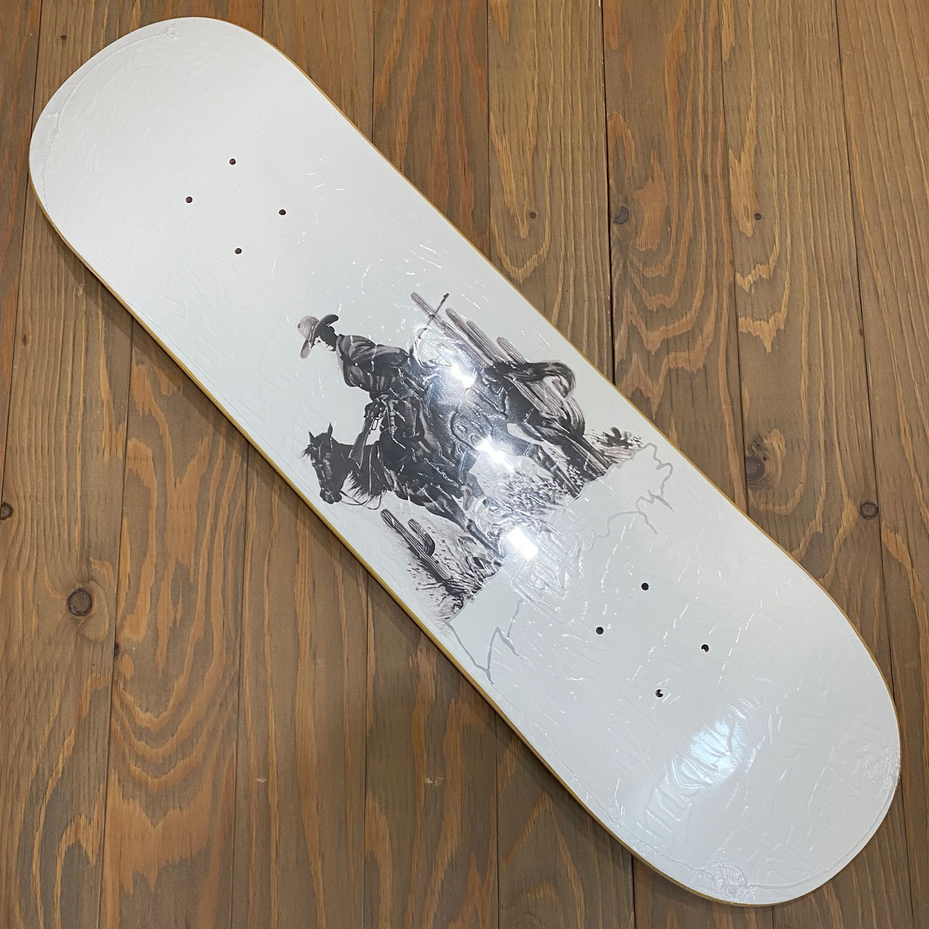 FUCKING AWESOME COWBOY WHITE DECK 8.25inch